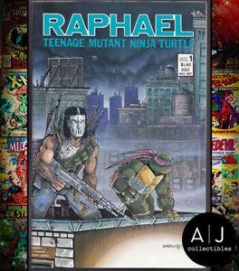 Raphael #1 NM- 9.2 (Mirage) 1987 Teenage Mutant Ninja Turtles 2nd Print