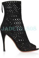 Zip Suede Clubwear Medium Width (B, M) Shoes for Women