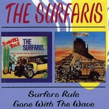 The Surfaris - Surfers Rule / Gone with the Wave [New CD] UK - Import