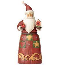 New Jim Shore 4058763 Santa With Birdhouse Figurine Christmas Folklore