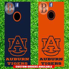 Auburn Tigers Corn hole Set of 6 Vinyl Decal Stickers cornhole Decals War Eagle