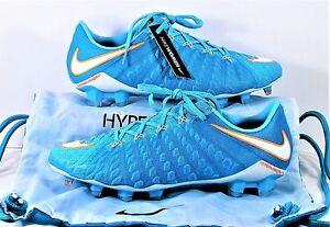 Nike Hypervenom Phantom III FG ACC Womens Soccer Cleats Sz 8 NEW 881543 414