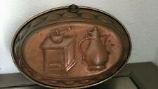 ancien moule en cuivre vintage