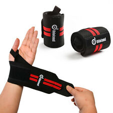Weight Lifting Training Wraps Wrist Support Gym Fitness Adjustable Bandage Strap