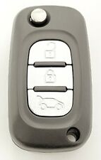RFC 3 button flip key case for Renault Clio Kangoo Twingo remote fob