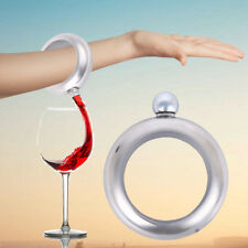 3.5oz/100ml Flask Bangle Bracelet Wine Smuggle Booze Alcohol Liquor Drink Hidden