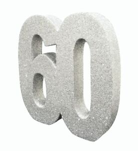 60th Diamond 60 Diamond Wedding Anniversary Decorations for Party