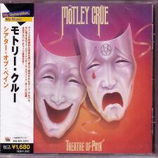 MOTLEY CRUE - Theatre Of Pain - Japan Edition CD