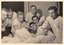 ORIG. foto staß foto soldati CAMERA LETTI reclute tempo Glauchau 1940