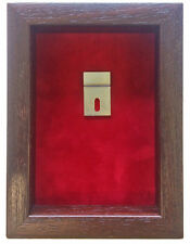 Small Fire Brigade Medal Display Case For 2 Medal