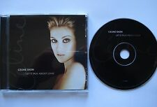Celine Dion  __  Let`s Talk About Love   __   16 Track CD ALBUM  __ Immortality