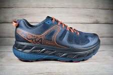 Hoka One One Stinson ATR 5 Trail Running Shoes Blue Orange Men's Size 11.5