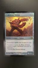 Worldwake ** Lodestone Golem (FOIL) ** Mtg Magic (EX/SP)