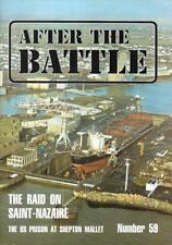 After The Battle 59 Raid Saint Nazaire Prison Shepton Mallet Submarine Espadon