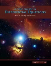 A First Course in Differential Equations : With Modeling Applications by Dennis