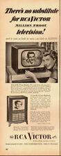 1951 Vintage ad for RCA Victor /Television/14-inch RCA Victor Bentley (071113)