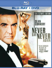 Never Say Never Again (Two-Disc Blu-ray/DVD Combo)