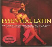 ESSENTIAL LATIN - 3 CD BOX SET - 75 HOT LATIN HITS - SOUL BOSSA NOVA & MORE