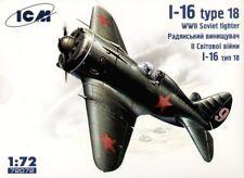 ICM 1/72 Polikarpov I-16 Type 18 # 72072