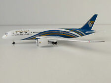 OMAN AIR Boeing 787-8 1/500 Herpa 529044 787 Dreamliner A40-SA Muskat