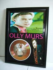 OLLY MURS   SIGNED  GOLD CD  DISC  915