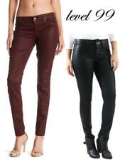 Level 99 Women's Mid Rise Coated Skinny Jeans - Size / Color Varies