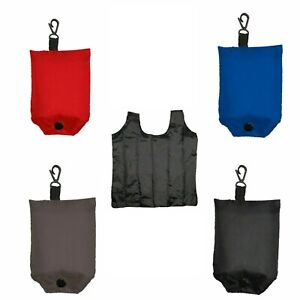 Reusable Shopping Bag Fold Away Extra Strong Foldable ECO Grocery Bags + Pouch