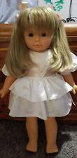 """Vintage 20"""" Gotz Doll w/Original Dress Christina or Joanna Soft Body Very Rare"""