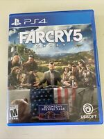 Far Cry 5 PlayStation 4 Standard Edition PS4 Doomsday Complete Excellent