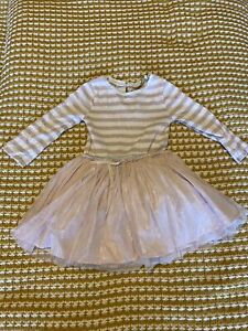 Baby Girl NEXT Sparkly Glitter Party Dress Age 9-12 Months