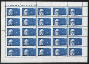 032/20 - CHILE, NICE SCOTT 412 FULL 25 STAMPS SHEET