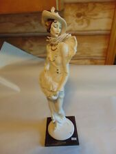 Vintage G Armani Florence Italy Figurine Statue 87 Lady With Muff My Fair Ladies