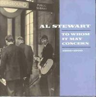 AL STEWART - TO WHOM IT MAY CONCERN (1966-70) NEW CD
