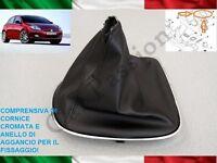 CUFFIA CAMBIO FIAT BRAVO 2007-2014 ORIGINALE IN PELLE CON AGGANCI gear boot