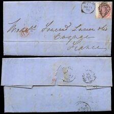 QV à l'Irlande Go France 1875 Trois Pences plaque 18 II