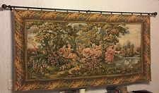 "PIR International Tapestry ""Repose In The Garden"" Made in Italy"