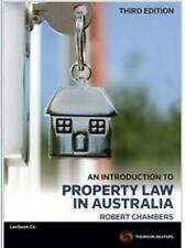 Used Book:  An Introduction to Property Law in Australia 3E