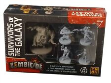 Cool Mini or Not, Zombicide Invaders, Survivors of the Galaxy Expansion, New