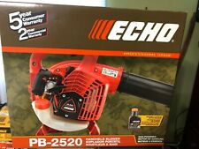 ECHO Handheld Leaf Blower Gas 2-Stroke Cycle Air Filter Translucent Fuel PB-2520