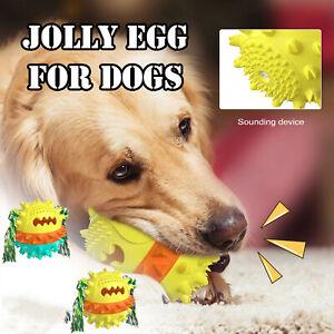 Dog Chew Treat Ball Toys Rubber Dental Clean Teeth Healthy Treat Bite Puppy Pet