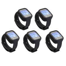 TD106 Wireless Calling Waterproof 5Watch Receiver for Restaurant Coffee Bar Club