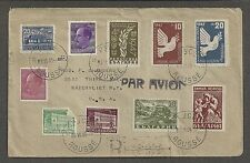 Bulgaria 1948 Registered Cover Russe to New York