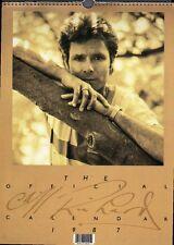 CLIFF RICHARD OFFICIAL 1987 VINTAGE CALENDAR