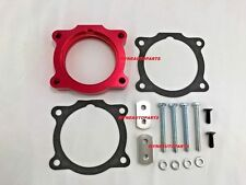 RED Anodized Throttle Body Spacer Fits For 2006-09 HUMMER H3 L5 3.5L, L5 3.7L