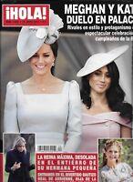 Hola Magazine Meghan Markle Kate Middleton Rafael Nadal Gigi Howard Juan Carlos