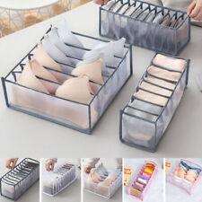 1/3Pcs Drawer Divider Closet Organizer Underwear Socks Bra Storage Box Home Tool