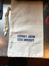 Stephen F. Austin State University Vintage Canvas Geological Sample Bag