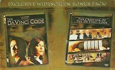 The Da Vinci Code Special Edition 2 Disc Dvd Set & The Creation of Dvd New