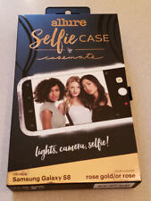 Case-Mate Allure Selfie Case Cover for Samsung Galaxy S8 - Rose Gold NEW