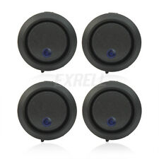 4x Interruttore ON/OFF Bilanciere LED Blu DC12V per Auto Barca Offerta ex1l